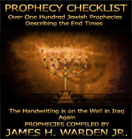 Prophecy Checklist Countdown to the Second Coming