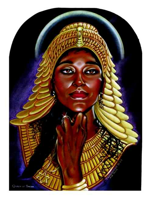 I am the Queen of Ethiopians.  I had a child by a famous King. Order Blacks in the Bible and learn Biblical Black History